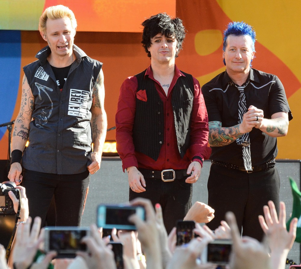 Green Day<br>Green Day Perform on Good Morning America