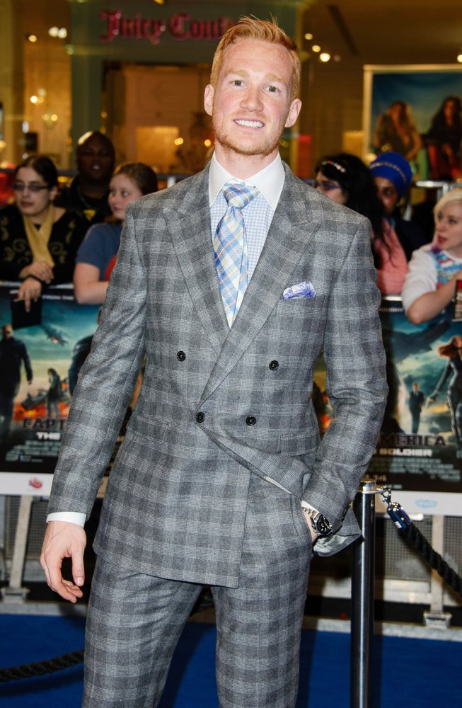 Greg Rutherford<br>UK Premiere of Captain America: The Winter Soldier