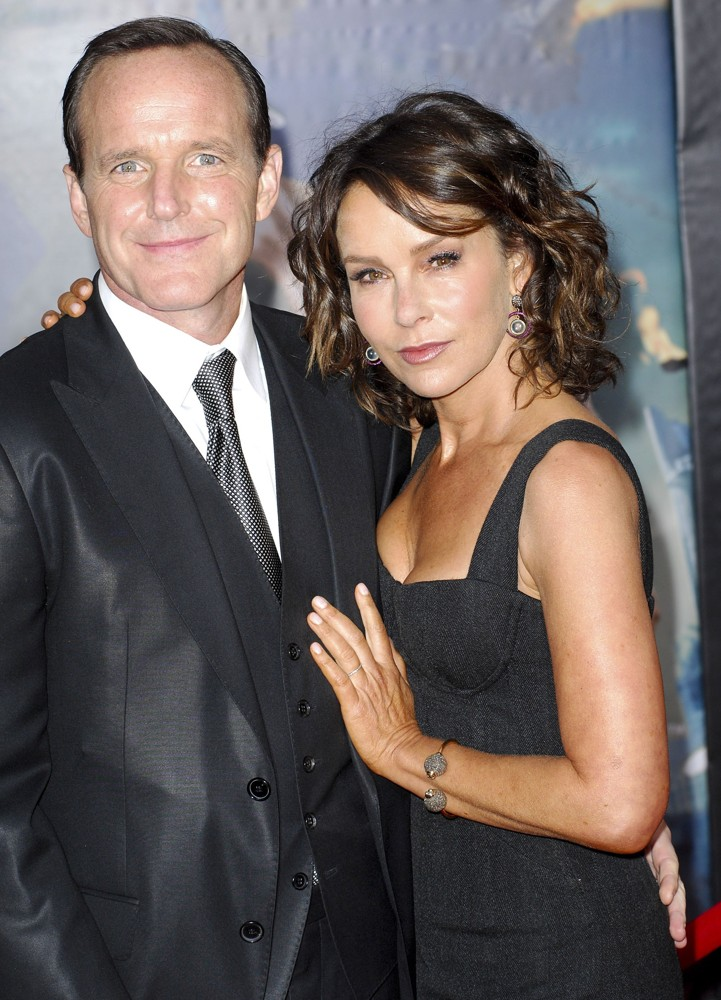 Gorgeous Jennifer Grey and Clark Gregg