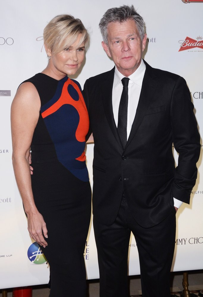 Yolanda Hadid, David Foster<br>Global Lyme Alliance - Uniting for A Lyme-Free World Inaugural Gala - Red Carpet Arrivals