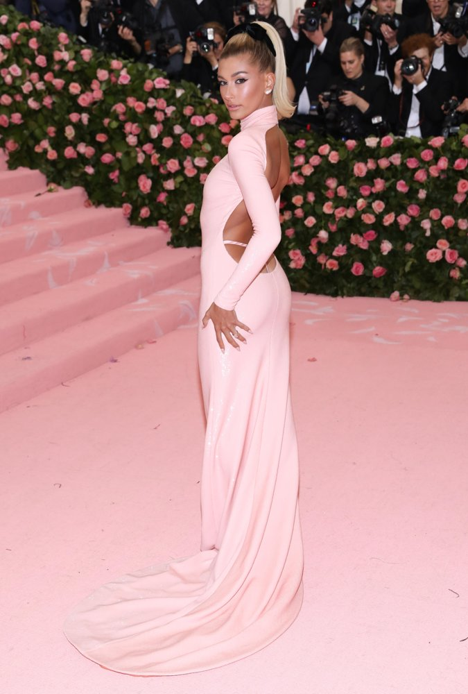 Hailey Baldwin<br>The 2019 Met Gala Celebrating Camp: Notes on Fashion