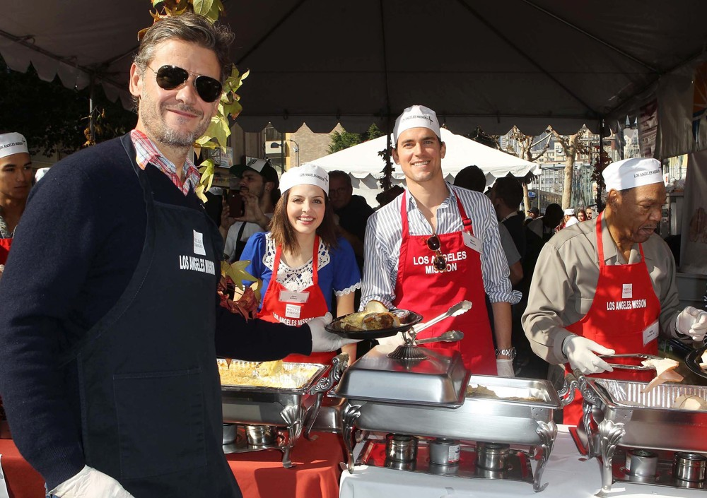 The Los Angeles Mission's Thanksgiving for Skid Row Homeless