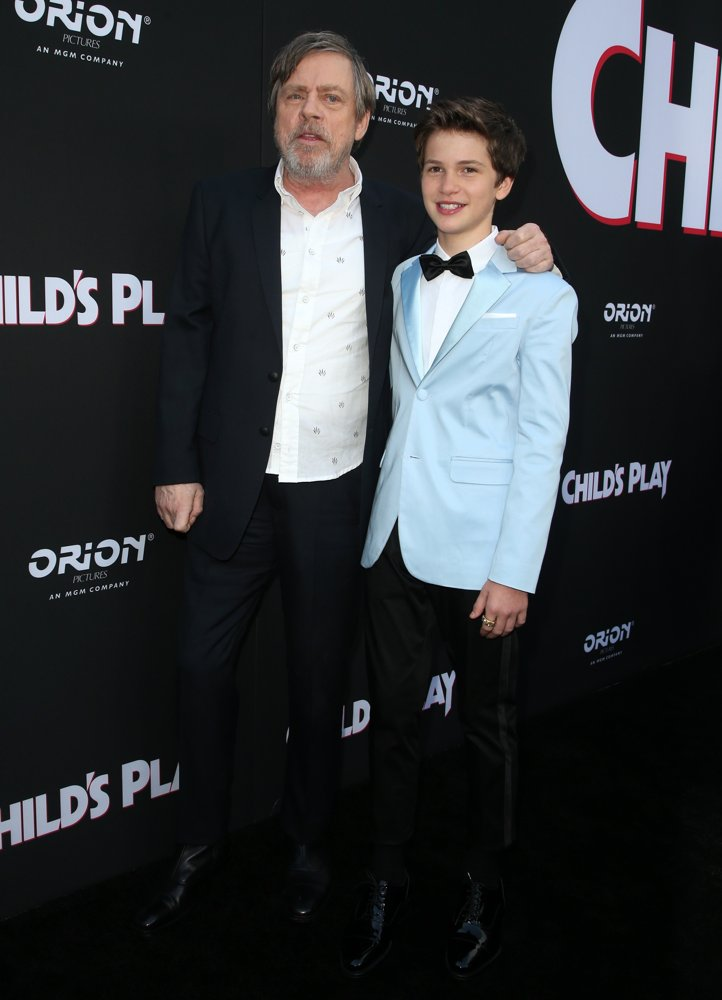 Mark Hamill, Gabriel Bateman<br>Premiere of United Artists Releasing's Child's Play