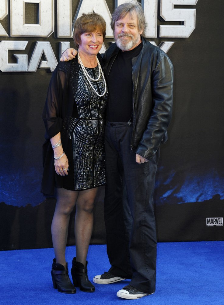 Marilou York, Mark Hamill<br>UK Premiere of Guardians of the Galaxy - Arrivals