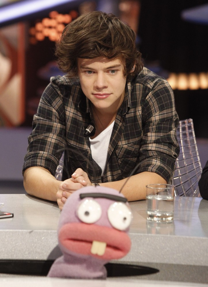 Harry Styles, One Direction<br>One Direction Appear on El Hormiguero TV Show