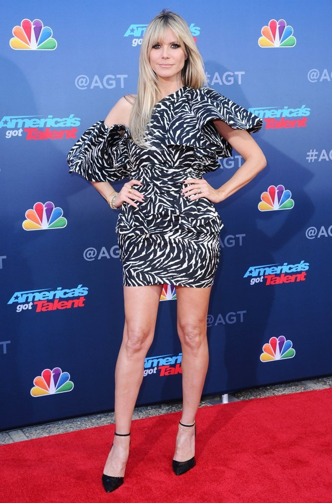 Heidi Klum<br>America's Got Talent Season 15 - Red Carpet Kickoff
