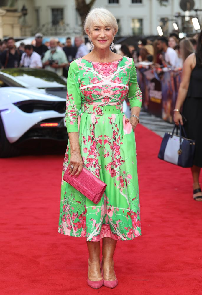 Helen Mirren<br>Fast and Furious Presents: Hobbs and Shaw UK Premiere
