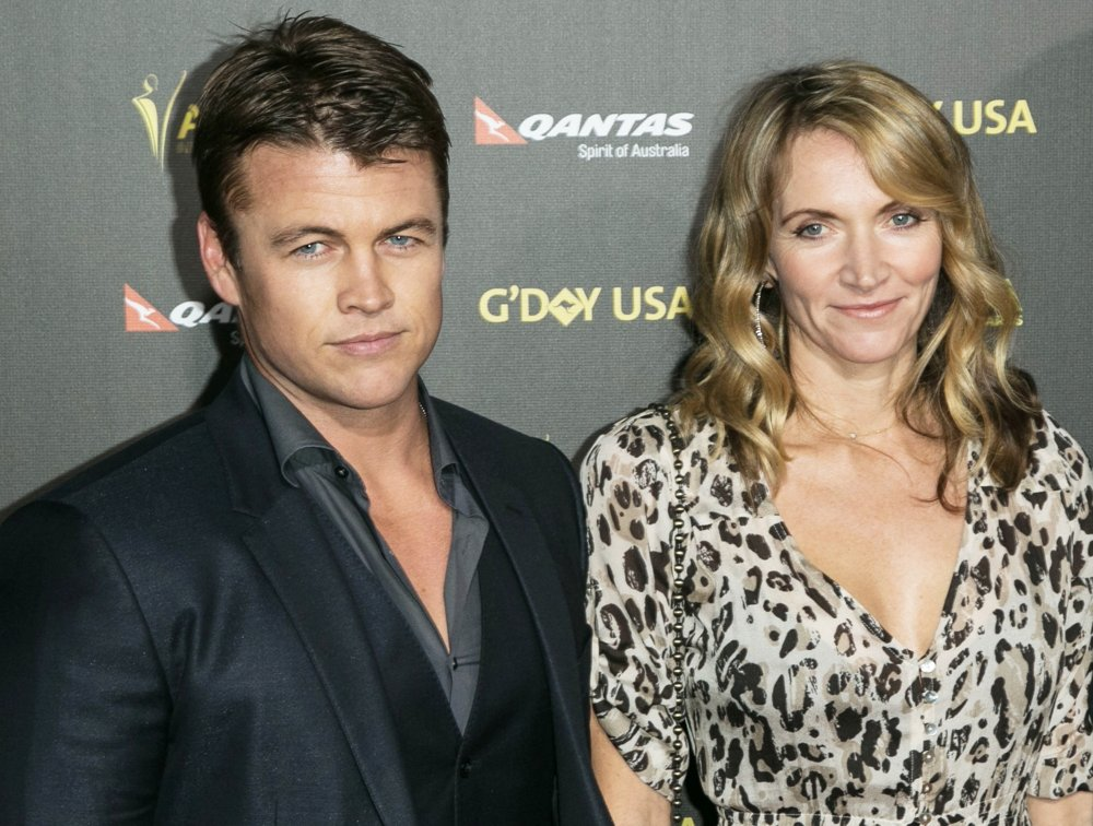 Luke Hemsworth with beautiful, Wife Samantha Hemsworth
