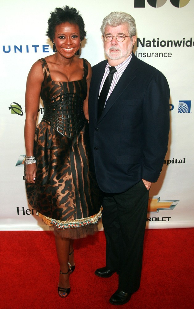 George Lucas Engaged to DreamWorks Animation Chairman Mellody Hobson