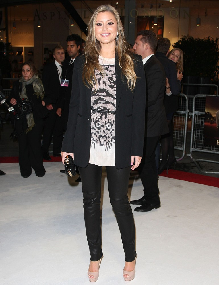 Holly Valance<br>The Twilight Saga's Breaking Dawn Part I UK Film Premiere - Arrivals