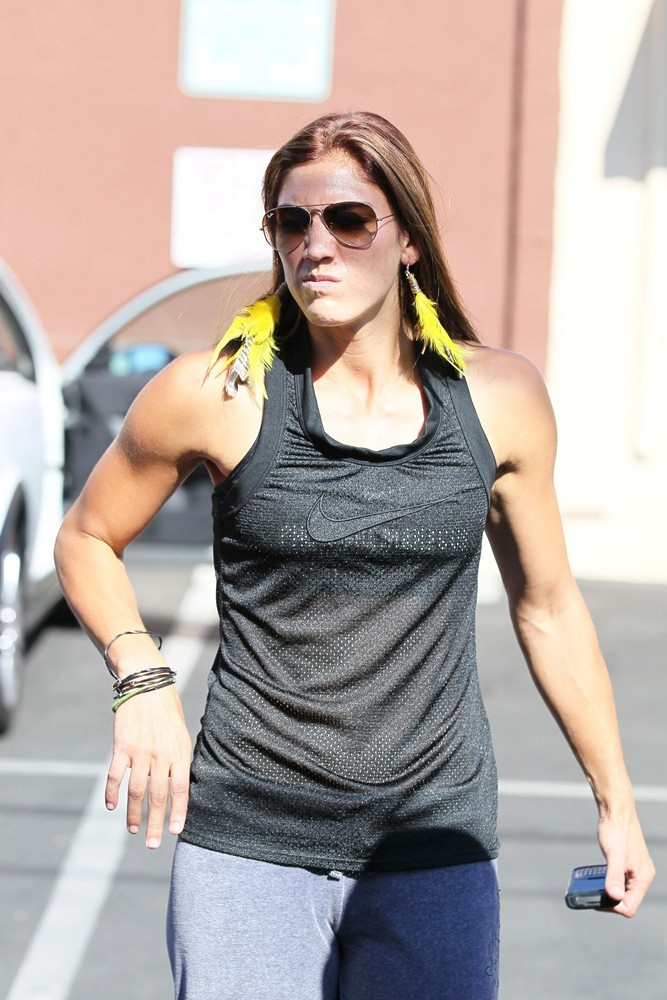 Hope Solo<br>Dancing with the Stars Celebrities Outside The Dance Rehearsal Studios