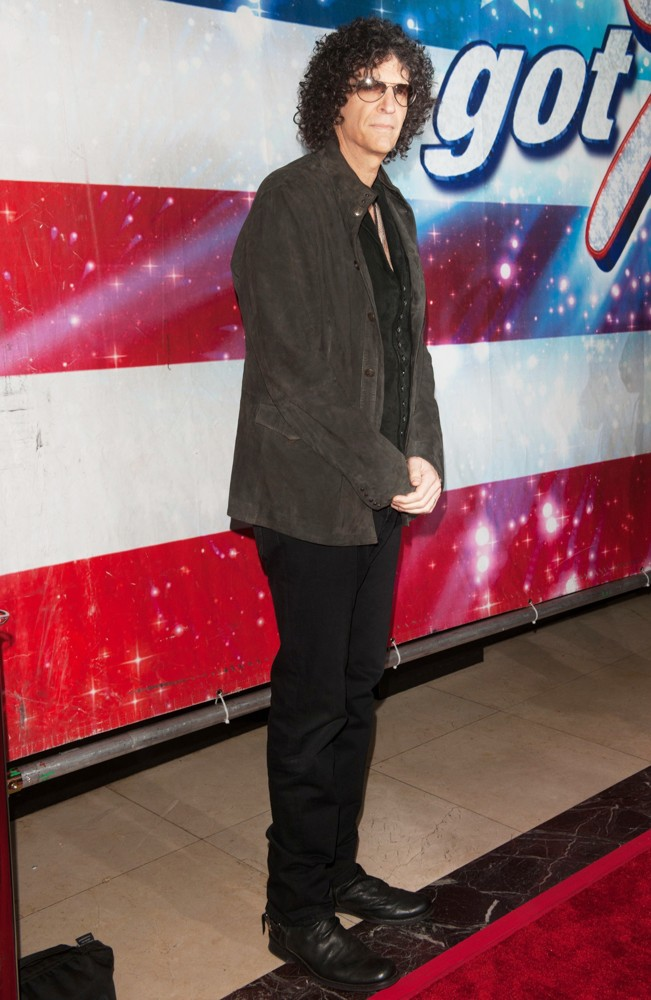 Howard Stern<br>America's Got Talent Los Angeles Auditions