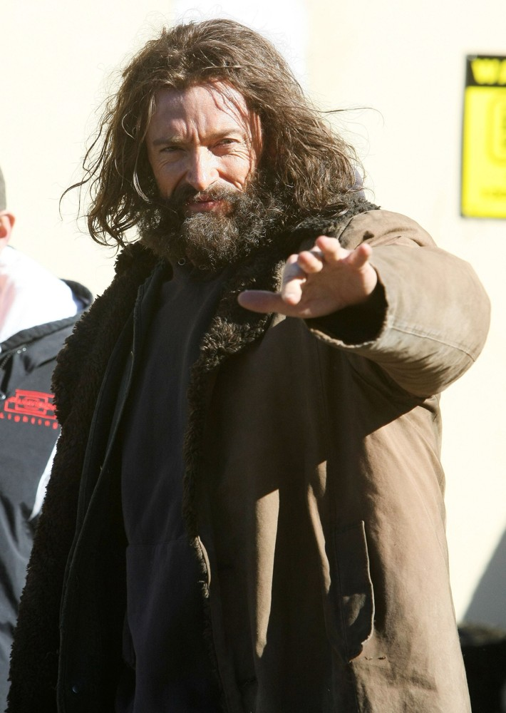 Hugh Jackman<br>On The Set of Movie The Wolverine