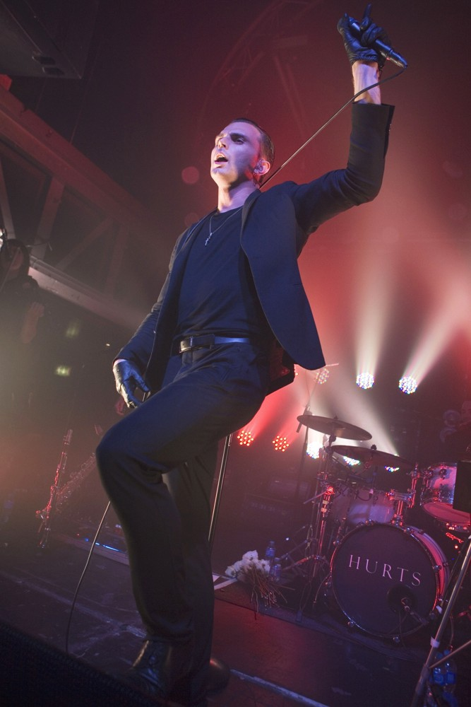 Theo Hutchcraft, Hurts<br>Hurts Playing A Headline Gig