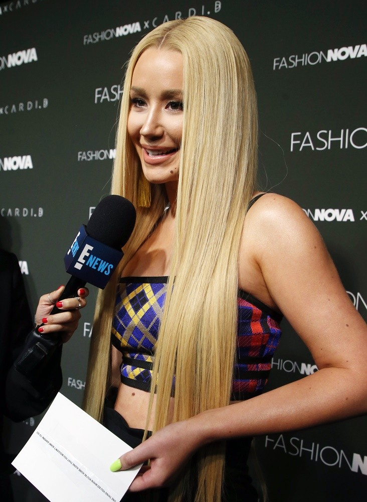 Iggy Azalea<br>Fashion Nova x Cardi B Collaboration Launch Event