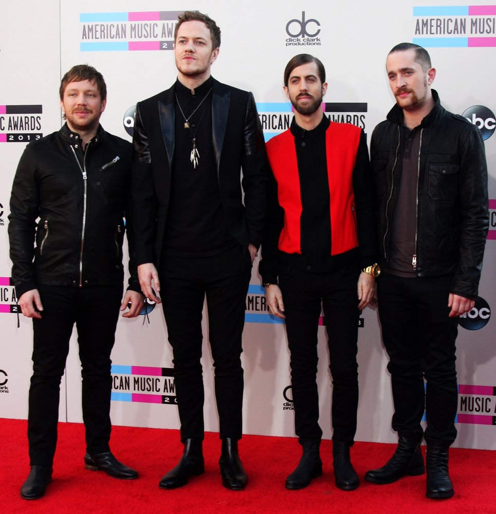 Imagine Dragons<br>2013 American Music Awards - Arrivals