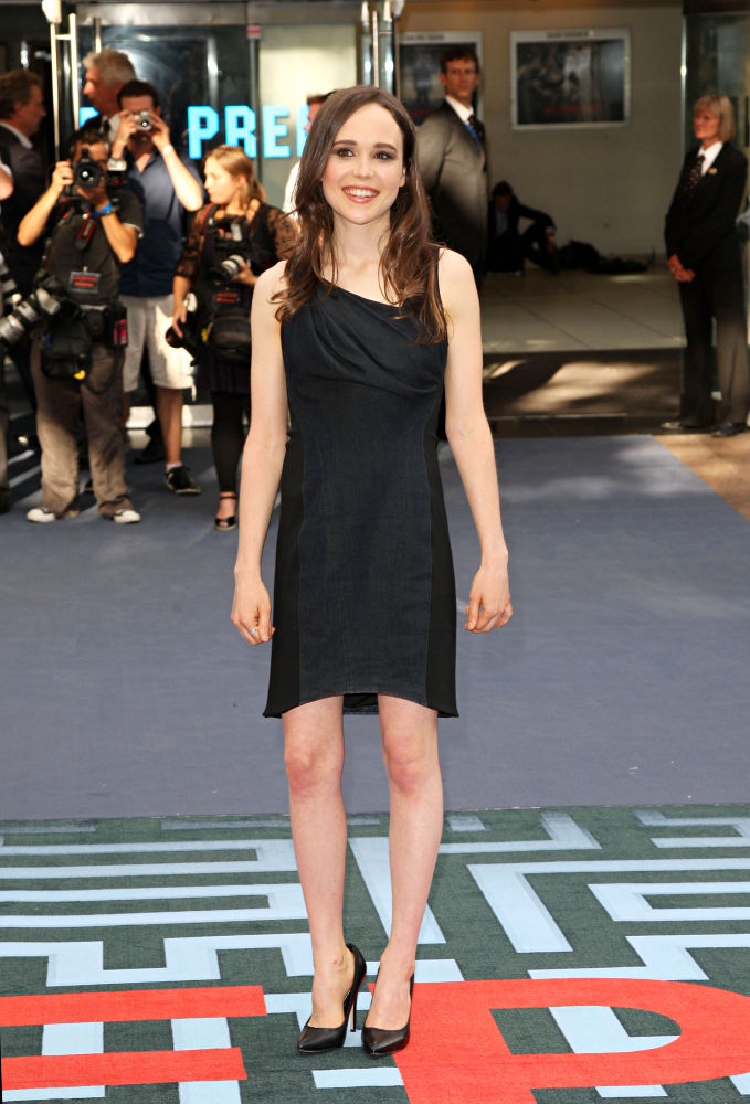 Ellen Page<br>The UK Premiere of Inception - Arrivals