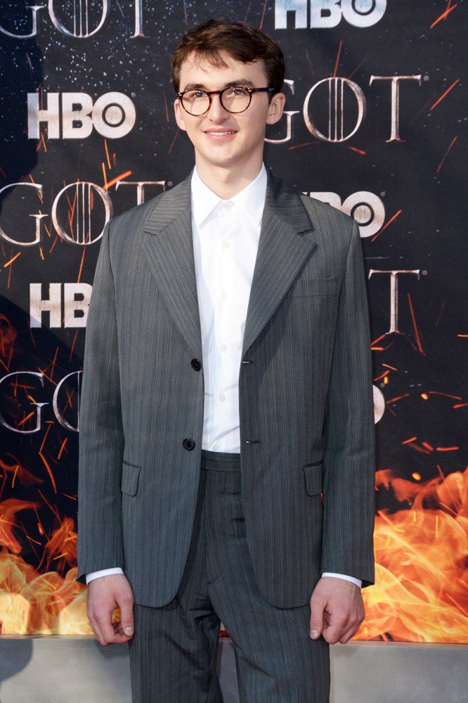 Isaac Hempstead-Wright<br>Game of Thrones Season 8 Premiere - Red Carpet Arrivals