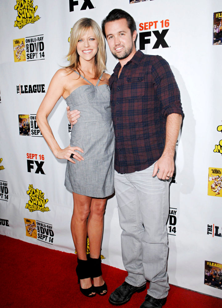 Kaitlin Olson, Rob McElhenney<br>LA Premiere of 'It's Always Sunny in Philadelphia' and 'The League'