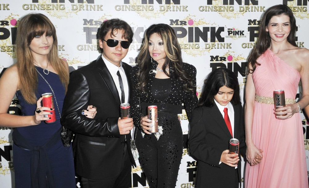 Mr. Pink's Ginseng Energy Drink Launch - Arrivals