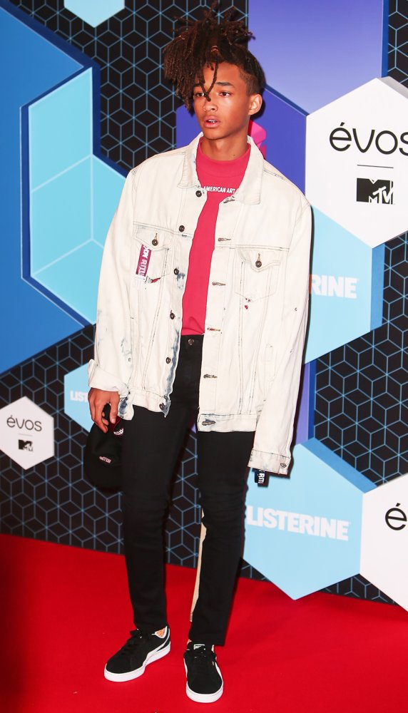 Jaden Smith<br>The 2016 MTV Europe Music Awards - Arrivals