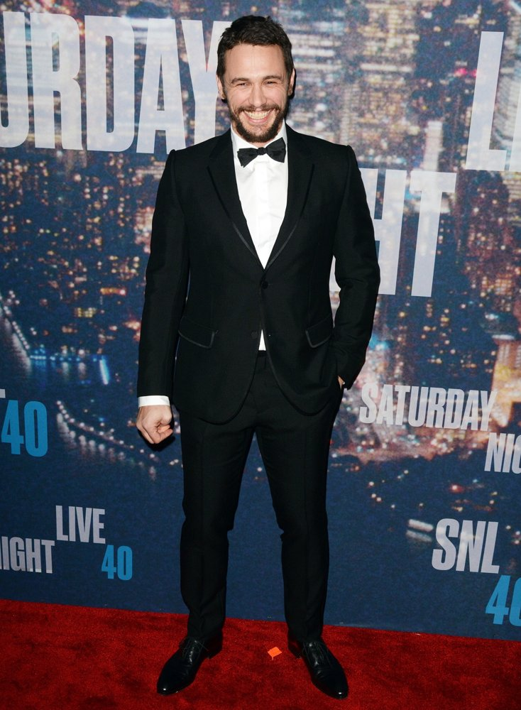 James Franco<br>Saturday Night Live 40th Anniversary Special - Red Carpet Arrivals