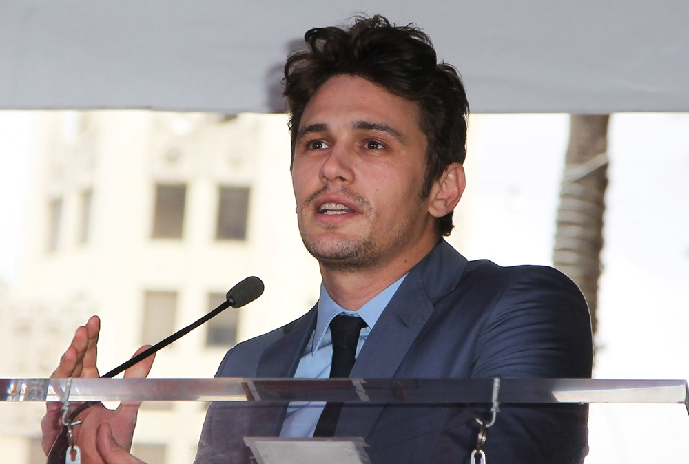 James Franco<br>James Franco Is Honoured with A Hollywood Star on The Hollywood Walk of Fame