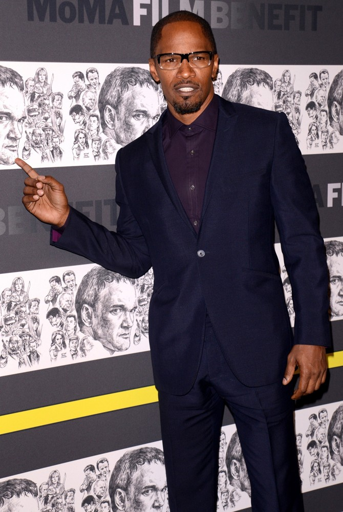 Jamie Foxx<br>The Museum of Modern Art 5th Annual Film Benefit Honoring Quentin Tarantino - Arrivals
