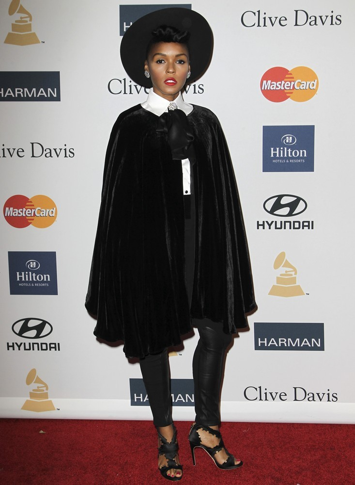 Janelle Monae<br>Clive Davis and The Recording Academy's 2013 Pre-Grammy Gala and Salute to Industry Icons