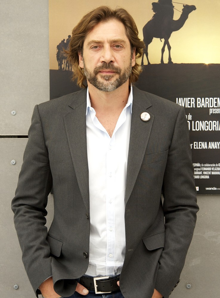 Javier Bardem<br>The Photocall of Sons of the Clouds