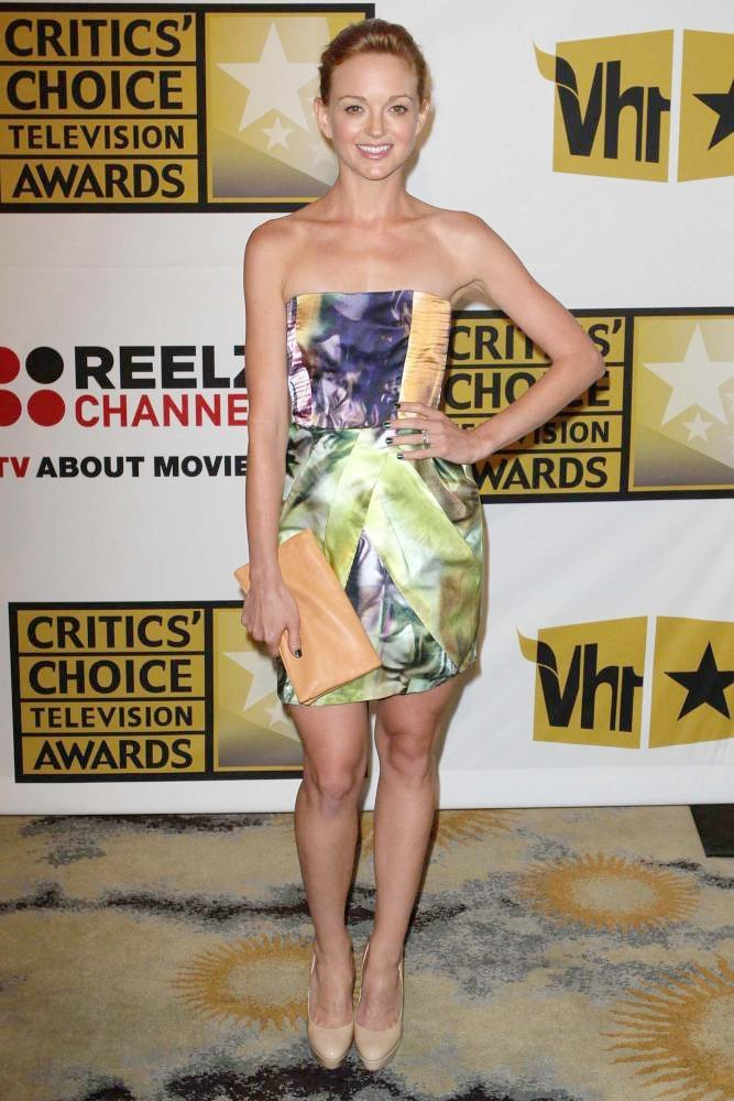 Jayma Mays<br>The 2011 Critics Choice Television Awards Luncheon - Red Carpet