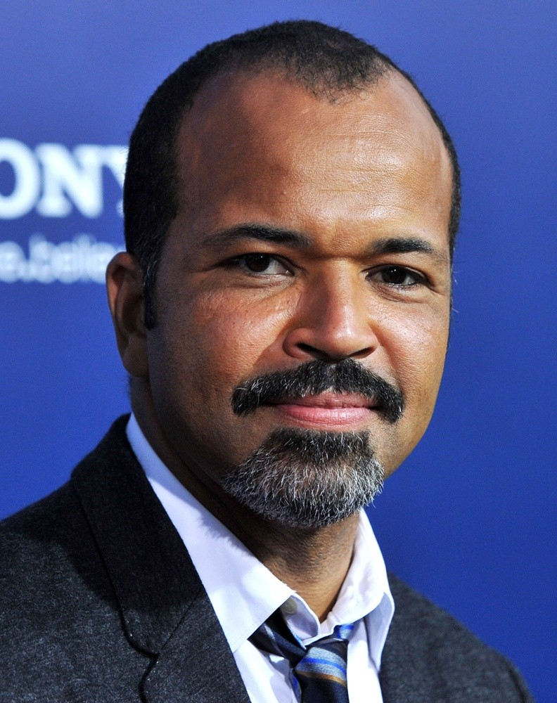 The 52-year old son of father (?) and mother(?), 180 cm tall Jeffrey Wright in 2018 photo