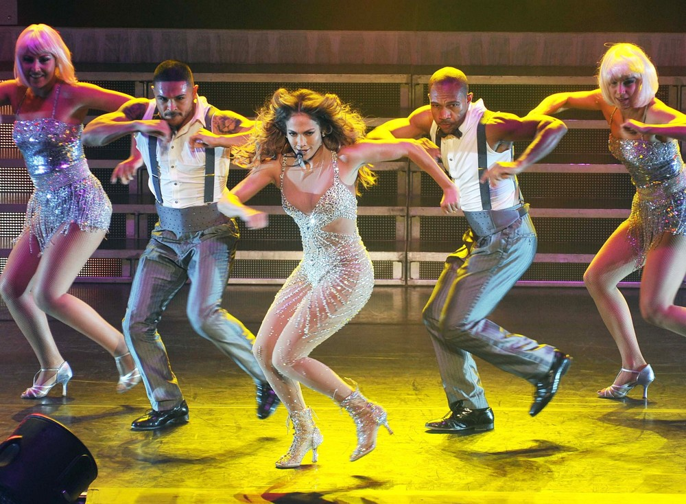 Jennifer Lopez<br>Jennifer Lopez Performing on Stage During Her World Tour Dance Again