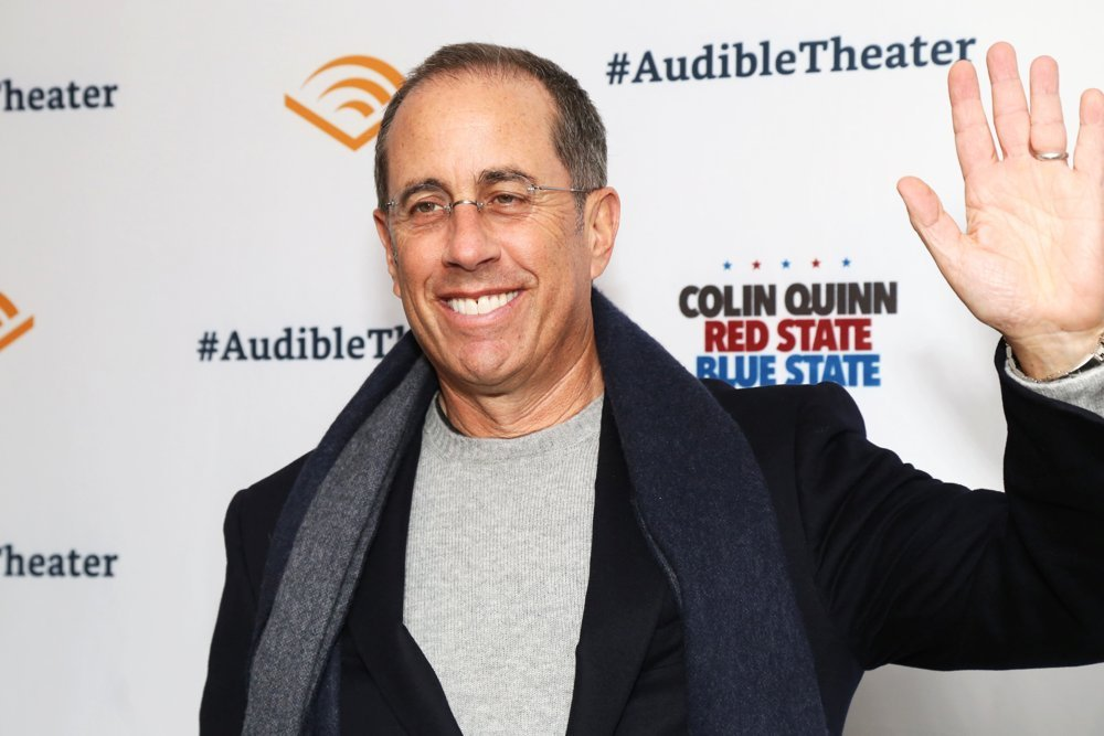 Jerry Seinfeld<br>Colin Quinn: Red State Blue State Opening - Arrivals