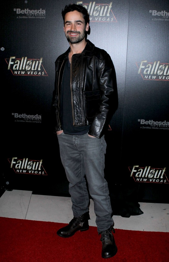 Jesse Bradford<br>Hollywood Celebrities Attend The Launch of Fallout New Vegas