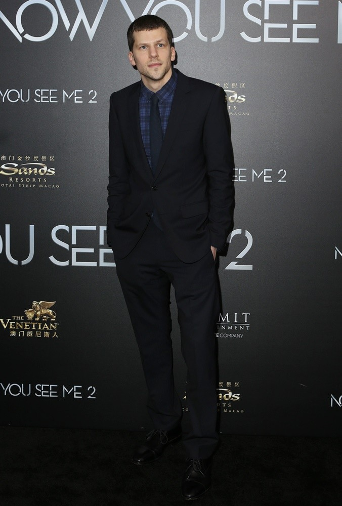 Jesse Eisenberg<br>World Premiere of Now You See Me 2 - Arrivals