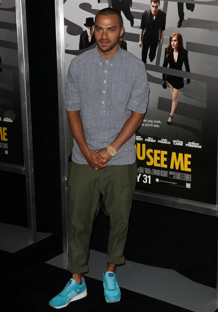 Jesse Williams<br>New York Premiere of Now You See Me