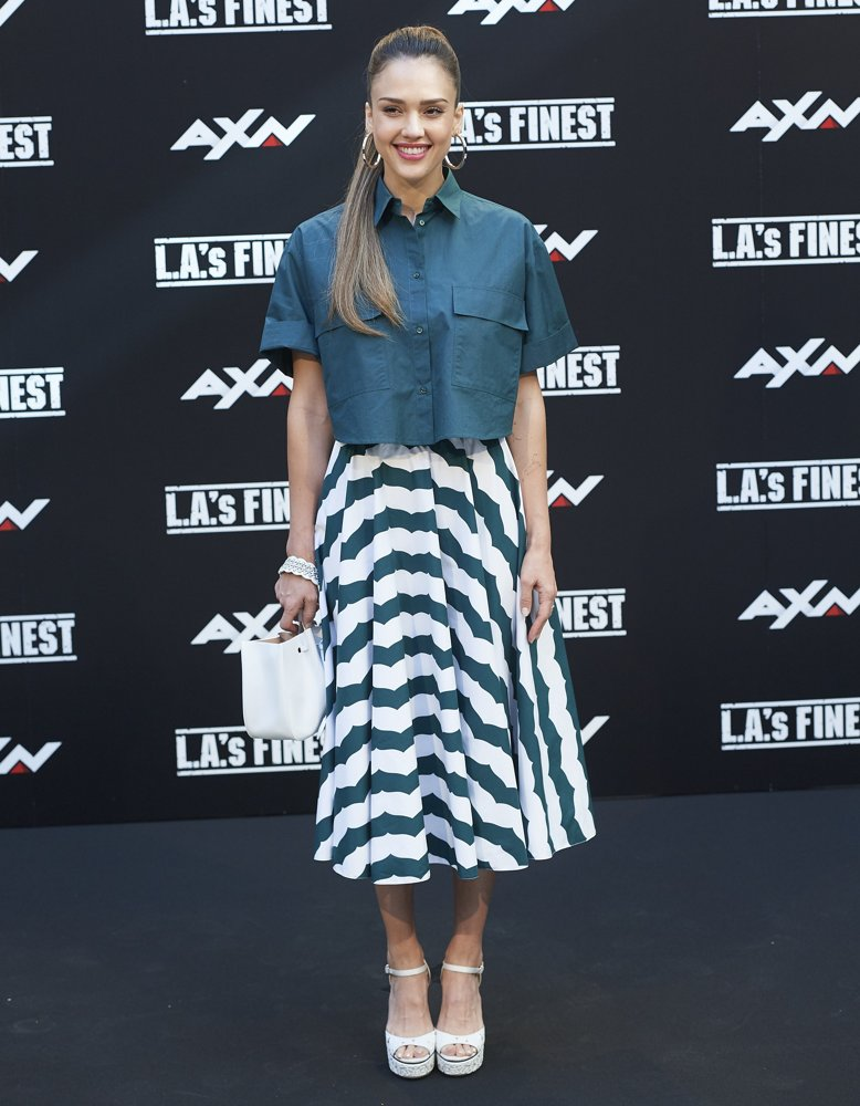 Jessica Alba Picture 307 - L A 's Finest AXN TV Series Madrid Photocall