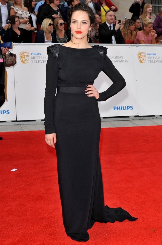 Jessica Brown Findlay<br>Philips British Academy Television Awards in 2011 - Arrivals