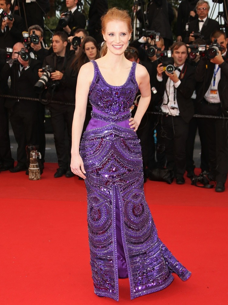 Jessica Chastain<br>66th Cannes Film Festival - All Is Lost Premiere
