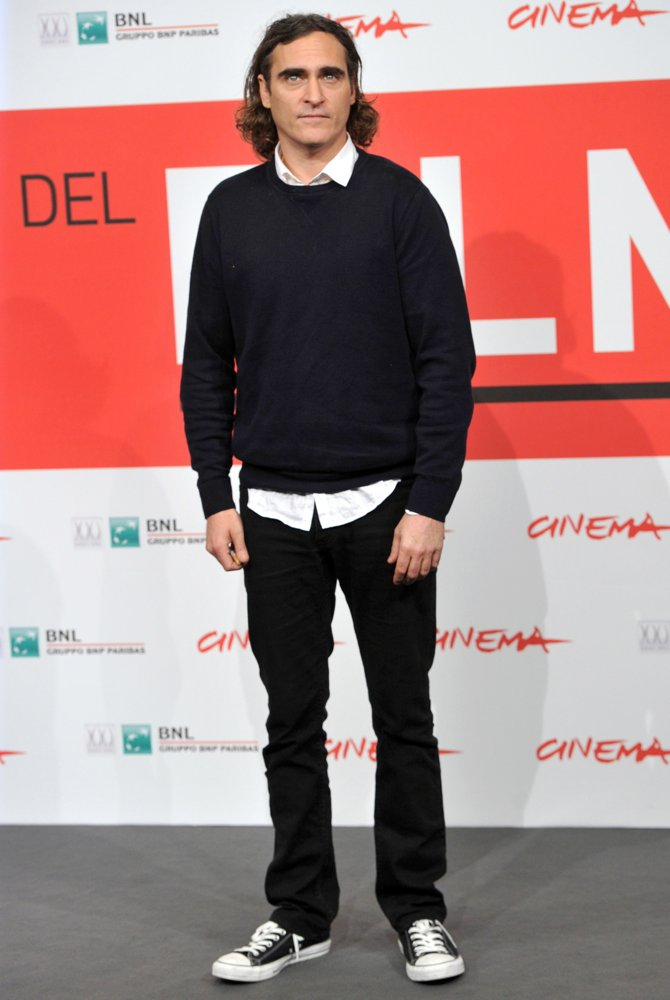 Joaquin Phoenix<br>The 8th Rome International Film Festival - Her - Photocall