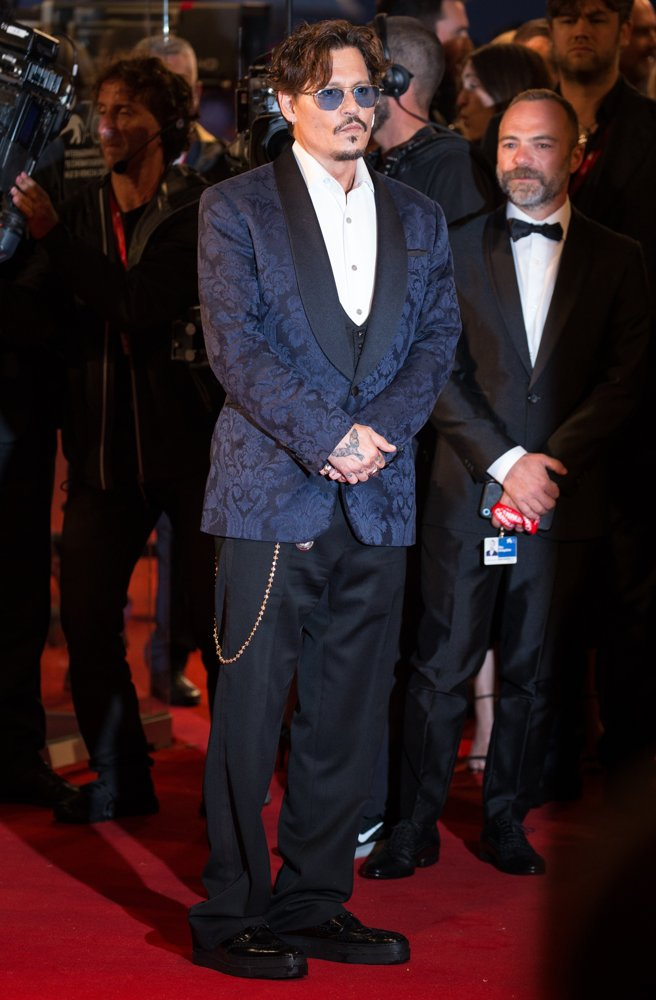 Johnny Depp<br>76th Venice Film Festival - Waiting for the Barbarians - Premiere