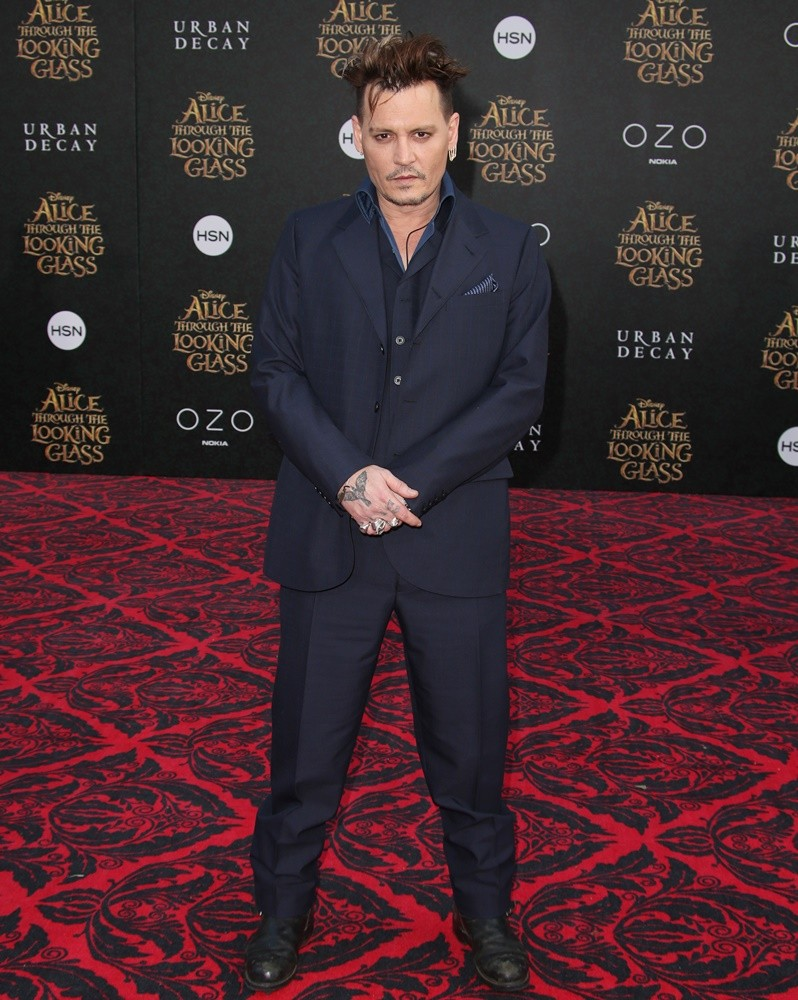 Johnny Depp<br>Premiere of Disney's Alice Through the Looking Glass