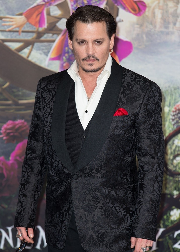Johnny Depp<br>Alice Through the Looking Glass European Premiere - Arrivals