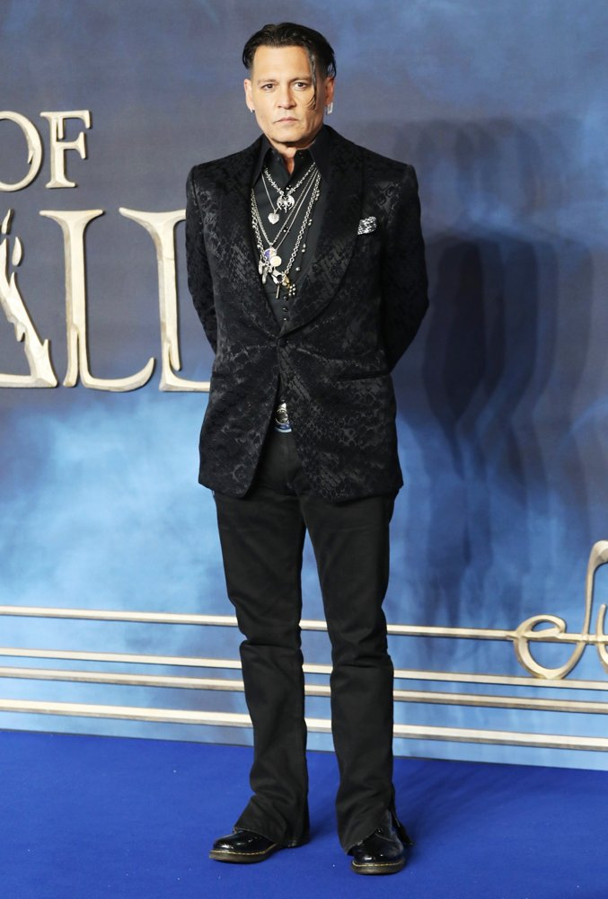 Johnny Depp<br>The UK Premiere of Fantastic Beasts: The Crimes of Grindelwald - Arrivals