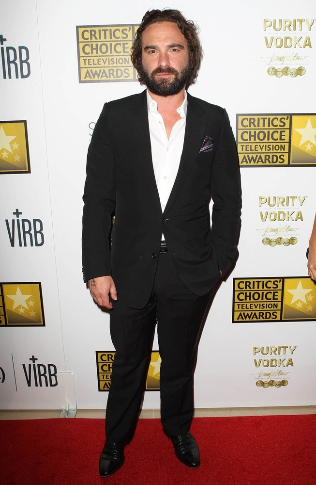 Johnny Galecki<br>Broadcast Television Journalists Association's 3rd Annual Critics' Choice Television Awards