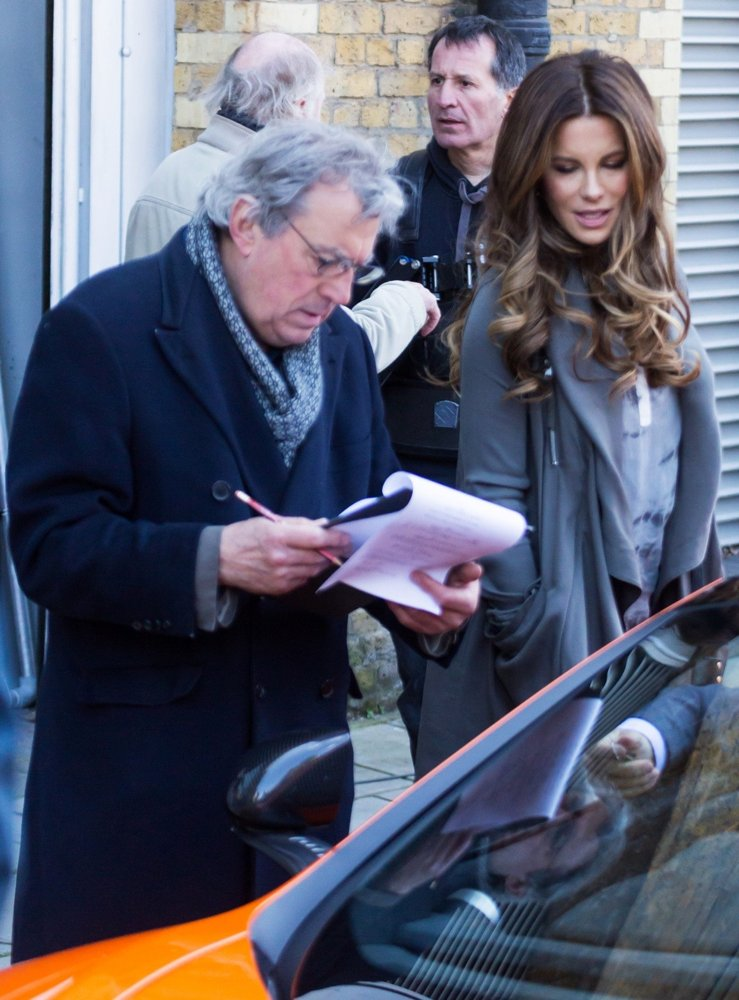 Terry Jones, Kate Beckinsale<br>Film Scenes for Absolutely Anything