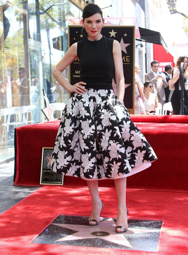 Julianna Margulies<br>Julianna Margulies Honored with A Star on The Hollywood Walk of Fame