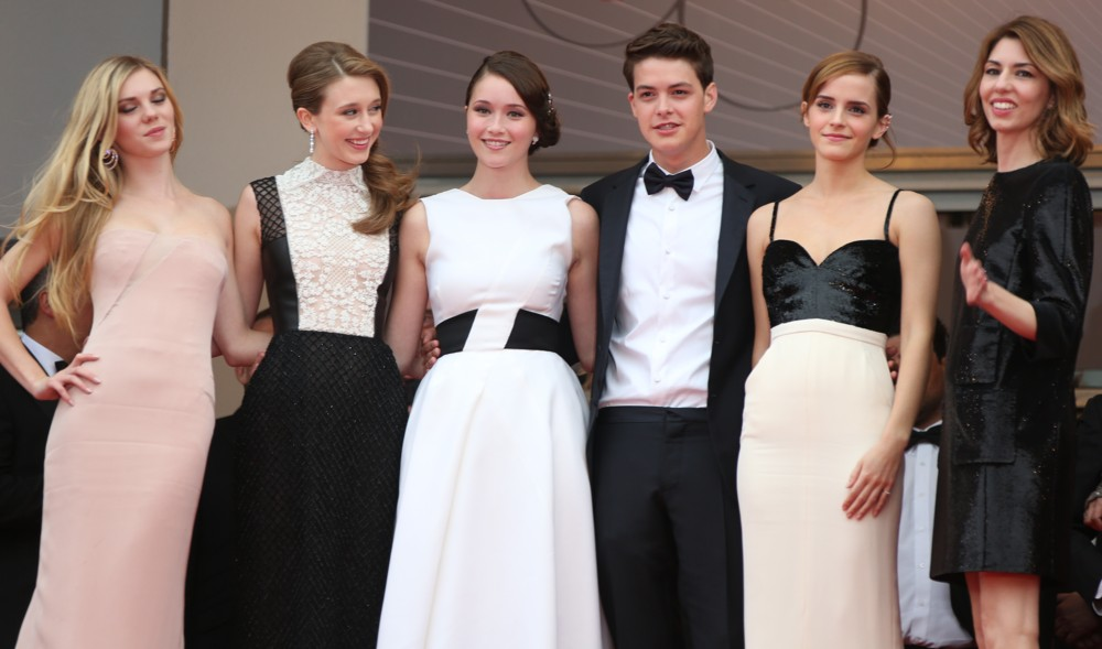Claire Julien, Taissa Farmiga, Katie Chang, Israel Broussard, Emma Watson, Sofia Coppola<br>66th Cannes Film Festival - The Bling Ring - Premiere