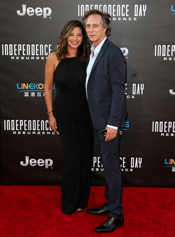 Kymberly Kalil, William Fichtner<br>Independence Day: Resurgence Los Angeles Premiere